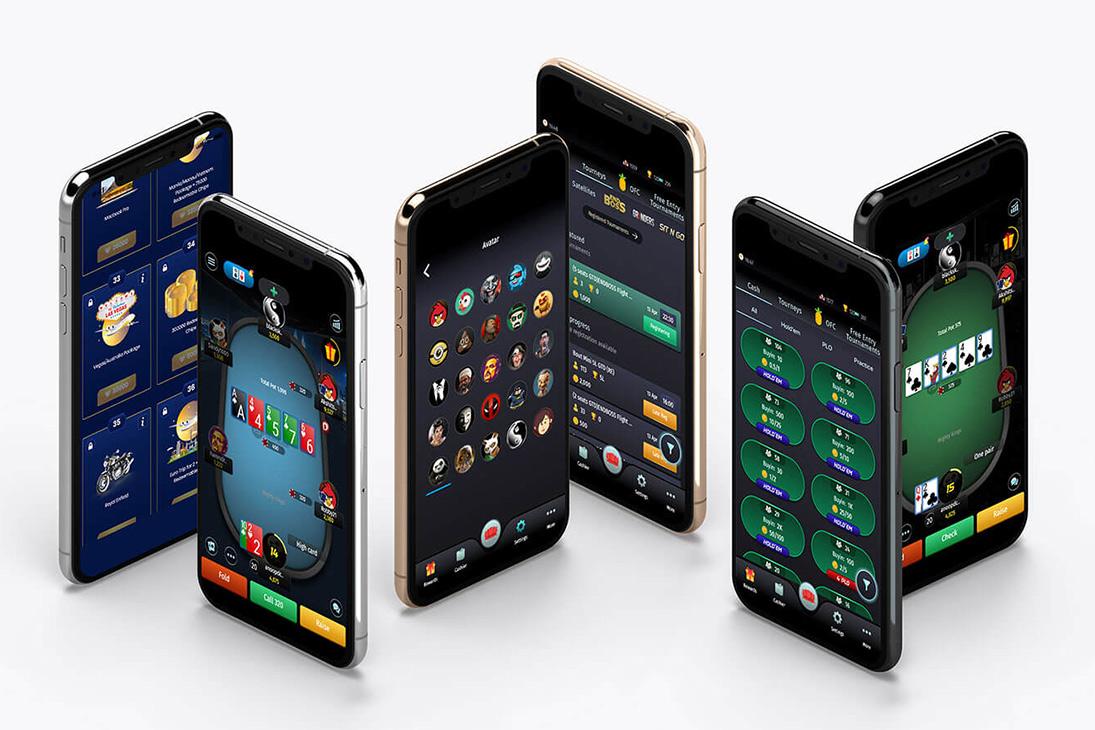 Baazi poker mobile apps.