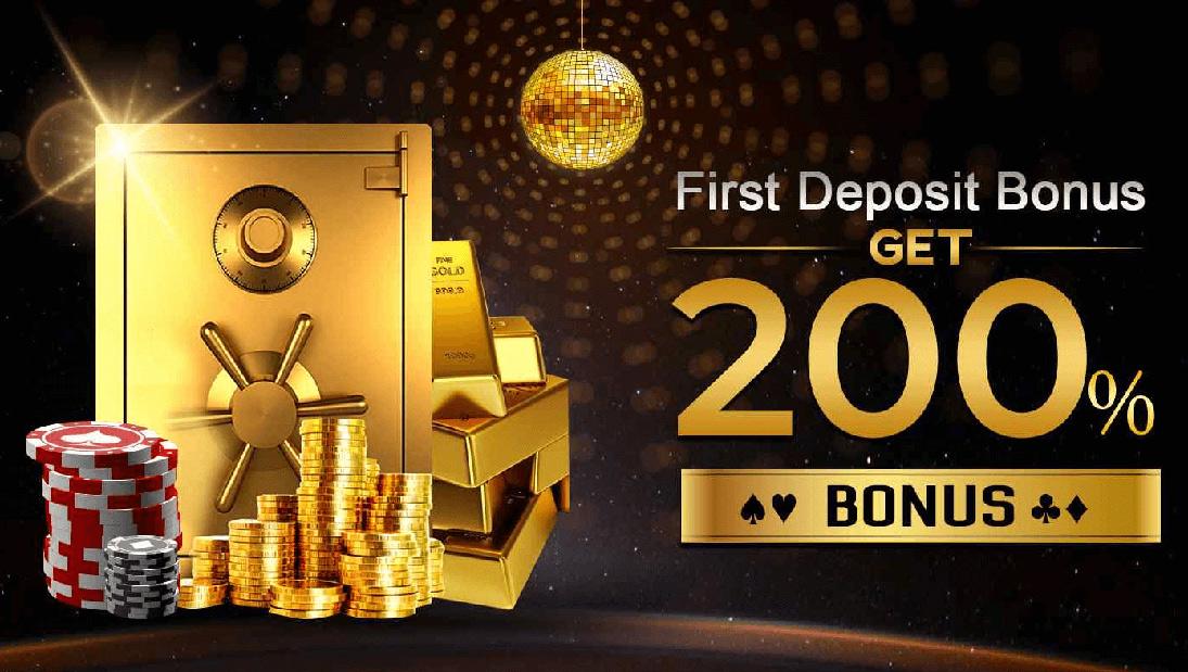 Khelo365 poker first deposit bonus.