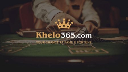 Khelo365 poker in India.