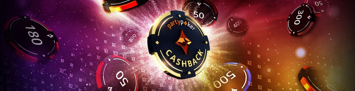 Cashback for PartyPoker players.