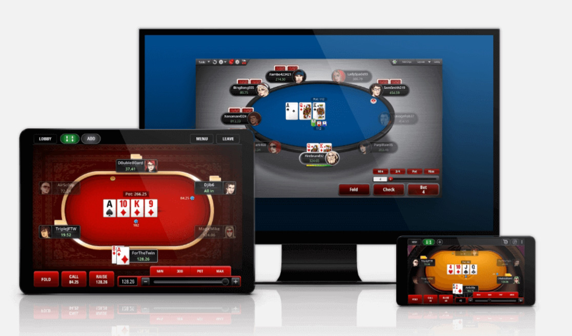 PokerStars mobile apps.