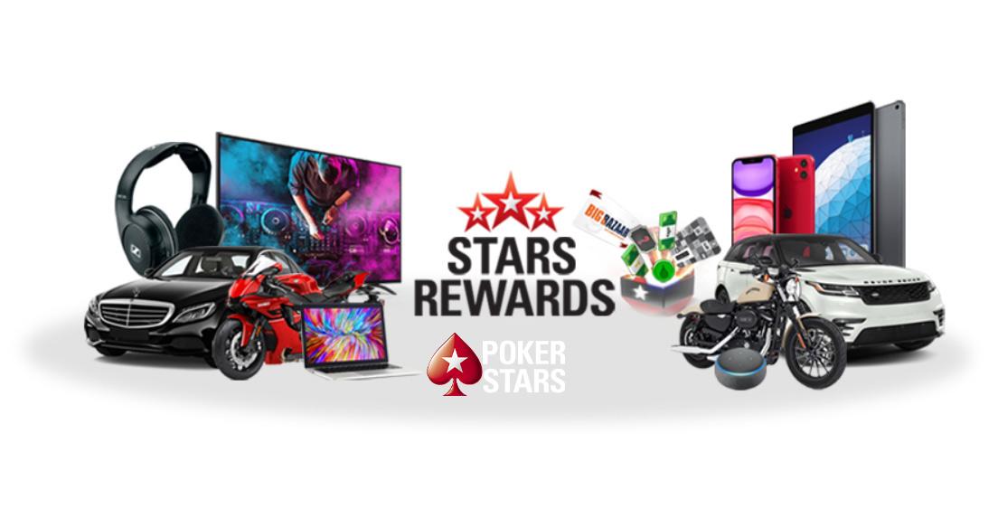PokerStars loyalty programm for indian players - Stars Rewards.