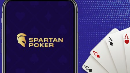 Download and install Spartan Poker mobile app.