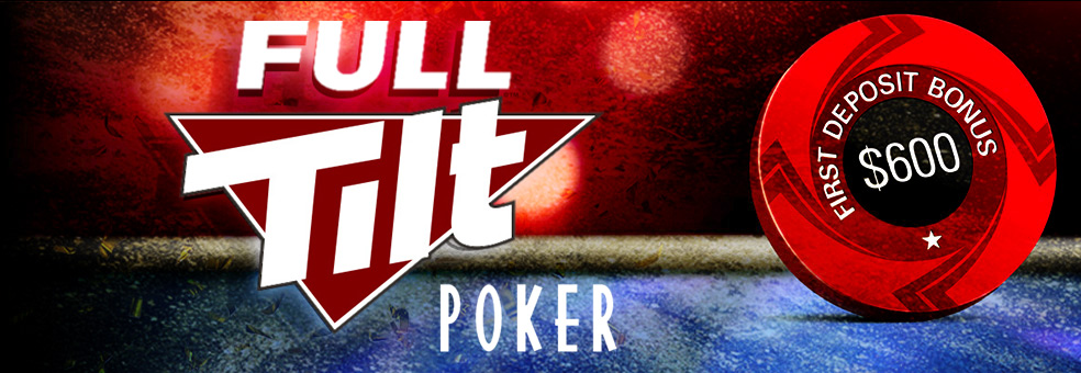 Full Tilt poker welcome bonus for new players.