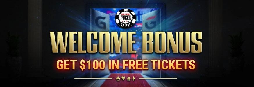 Welcome bonuse for players of GGPoker.